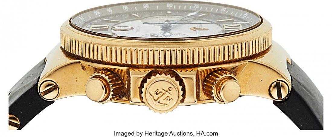 54199: Ulysse Nardin, Ref: 356-66, 18k Gold Marine Chro - 3