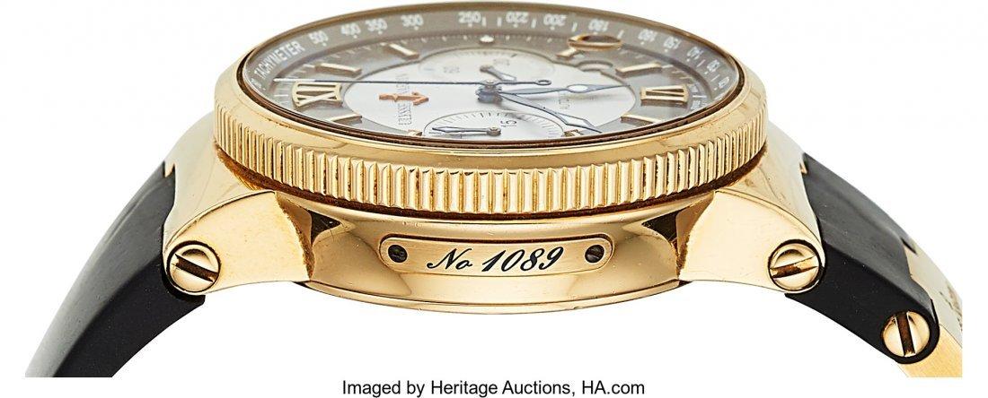 54199: Ulysse Nardin, Ref: 356-66, 18k Gold Marine Chro - 4