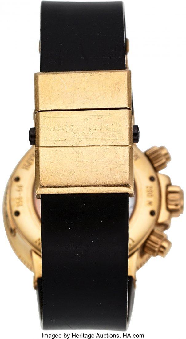 54199: Ulysse Nardin, Ref: 356-66, 18k Gold Marine Chro - 5