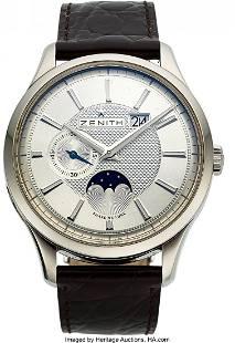 54110 Zenith Captain Moonphase Ref 032140691 Ca