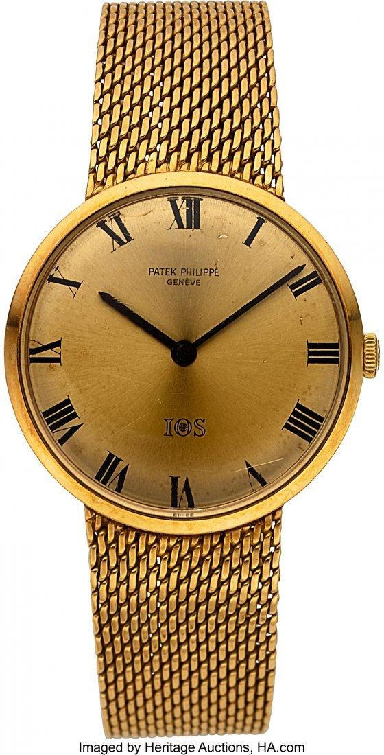 54281: Patek Philippe Ref. 3468 Gold IOS Presentation W
