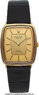 54026 Rolex Cellini Gents 18k Gold Wristwatch circa