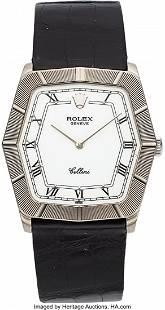 54029 Rolex Cellini Ref 4170 White Gold Wristwatch C