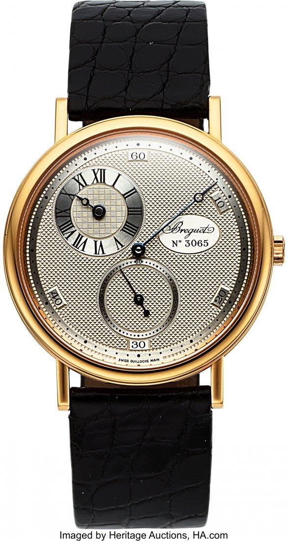 54209: Breguet, Ref. 3690, 18k Gold Anniversary Regulat