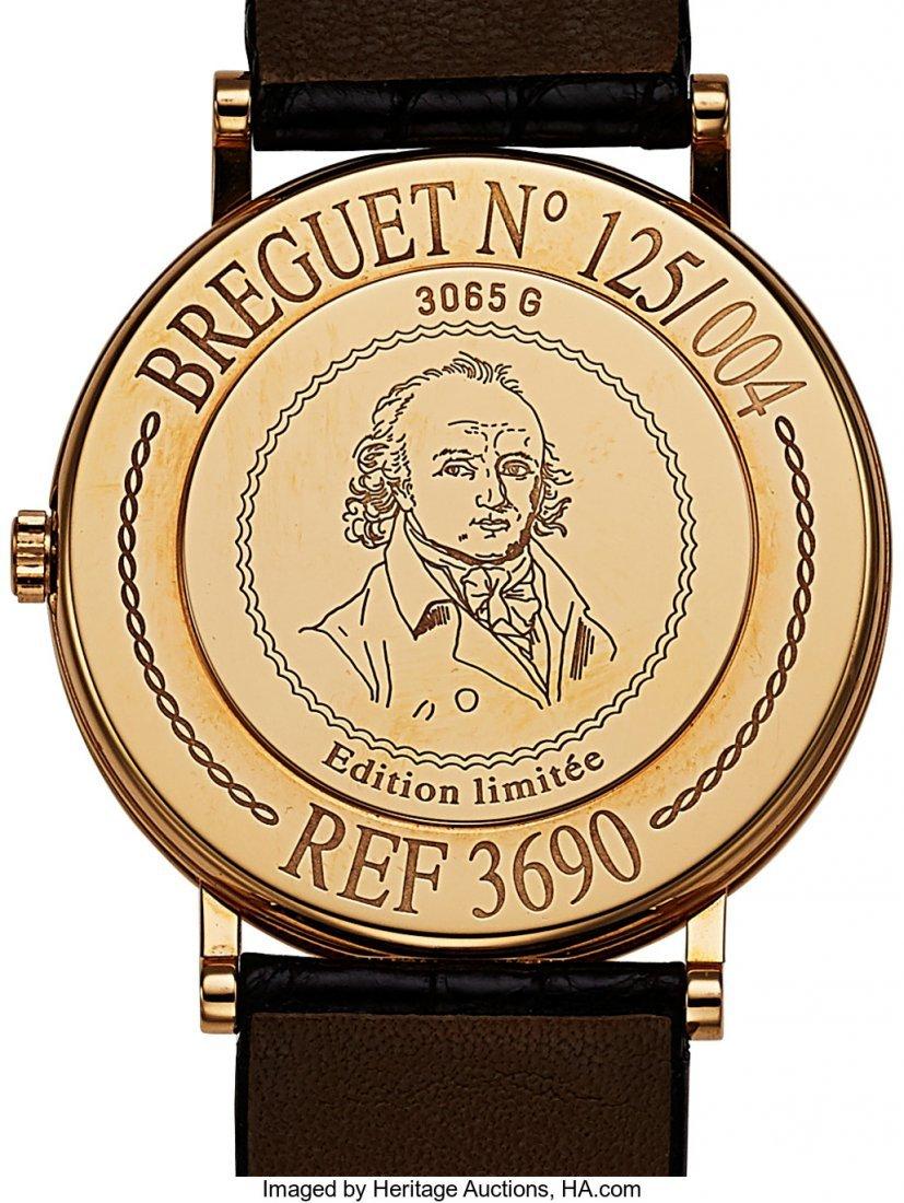 54209: Breguet, Ref. 3690, 18k Gold Anniversary Regulat - 2
