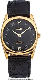 54035 Rolex Ref 4233 Gold Cellini Danaos circa 200