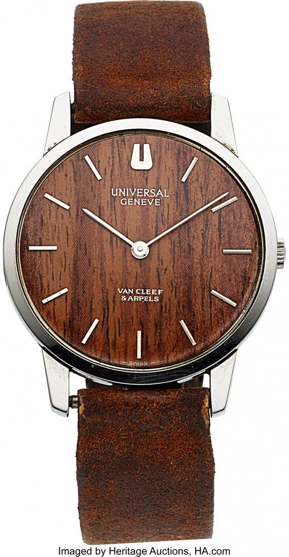 54122: Universal Geneve, Retailed by Van Cleef & Arpels