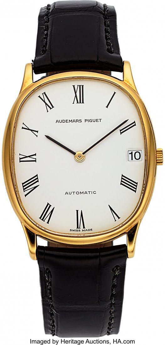 54125: Audemars Piguet, Ellipse Style Dress Watch, Circ