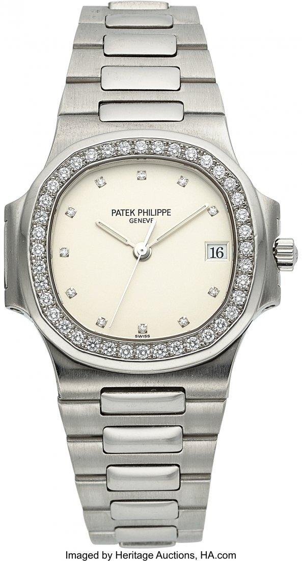54296: Patek Philippe, Ref. 3800/3P, Platinum Nautilus,