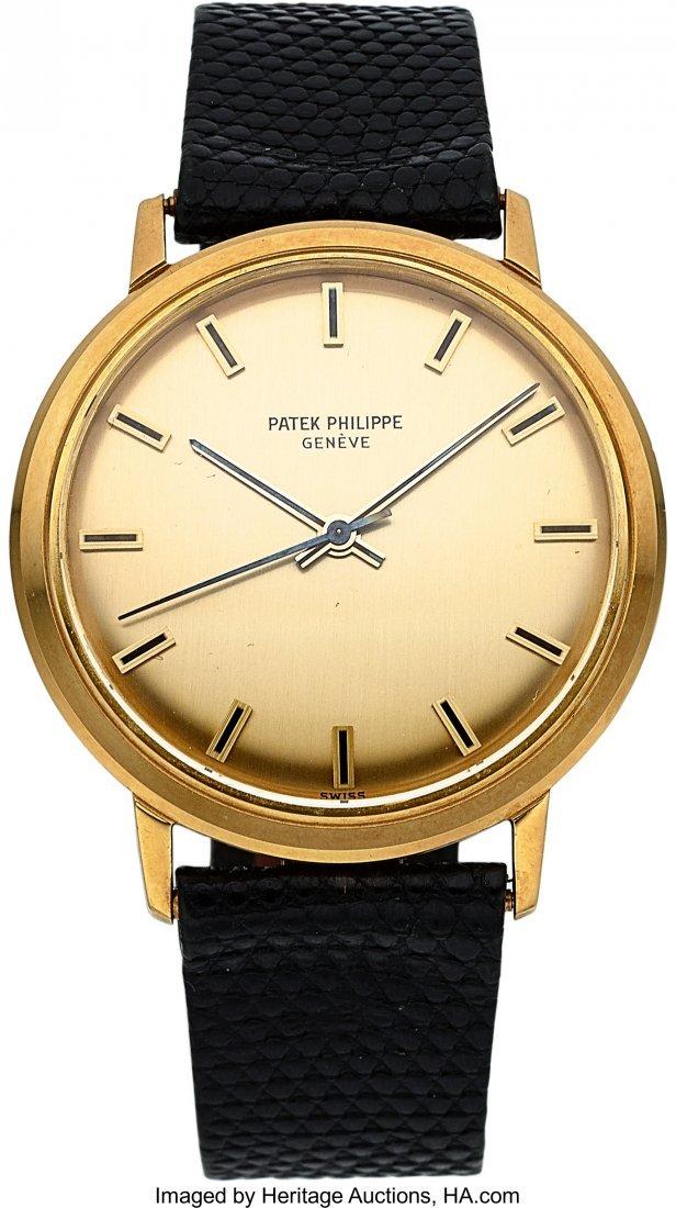 54298: Patek Philippe, Ref. 3569/1J,  18k Gold Back Set