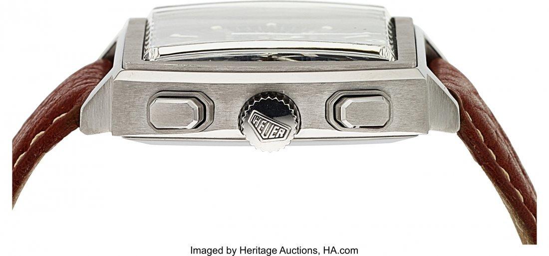 54130: Tag Heuer Monaco Steel Automatic Chronograph  Ca - 2