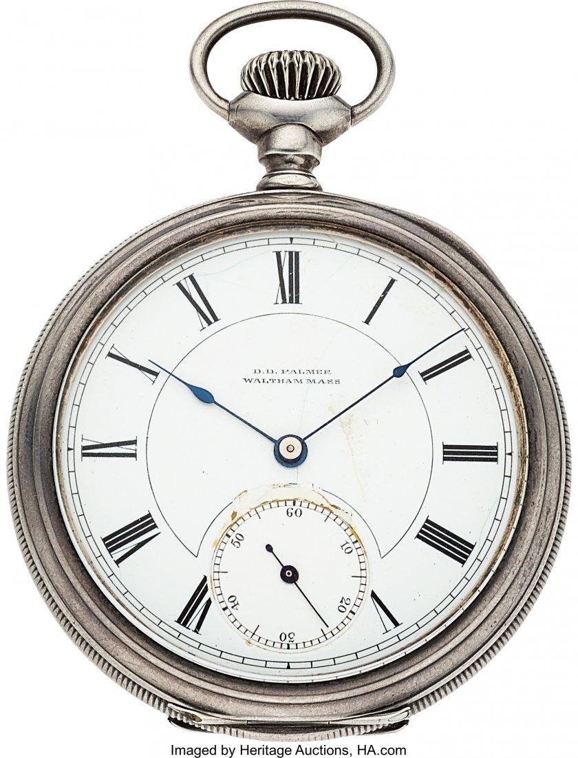 54395: D.D. Palmer Waltham Mass. No. 1000, First Watch