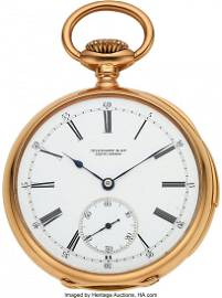 54309: Patek Philippe, 18k Gold Minute Repeater Pocketw