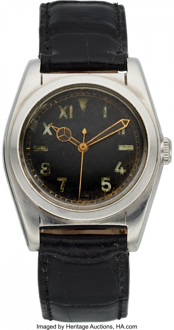 54139: Rolex Ref. 2940, Stainless Steel Bubble Back, Ci