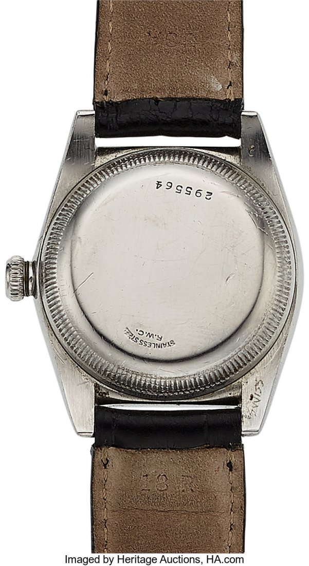 54139: Rolex Ref. 2940, Stainless Steel Bubble Back, Ci - 4