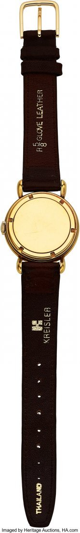 54055: Vacheron & Constantin Vintage Gold Watch With Te - 2