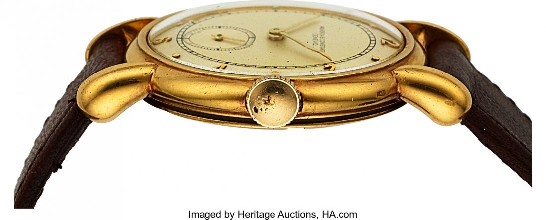 54055: Vacheron & Constantin Vintage Gold Watch With Te - 3