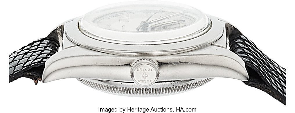 54141: Rolex Ref. 2940 Stainless Steel Bubble Back  Cas - 2