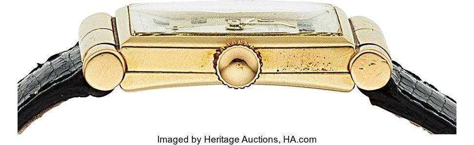 54056: Vacheron & Constantin, 14k Gold Manual Wind Wris - 2