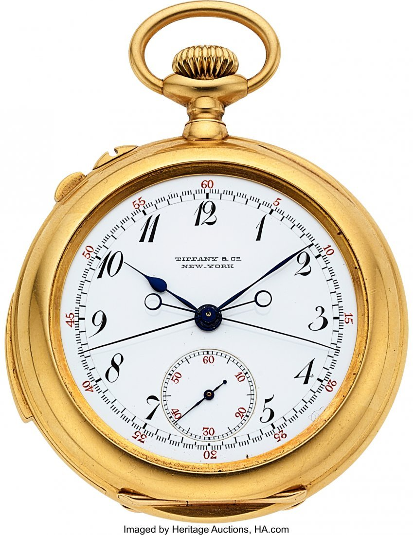 54312: Patek Philippe For Tiffany & Co, No. 97866,  Ver