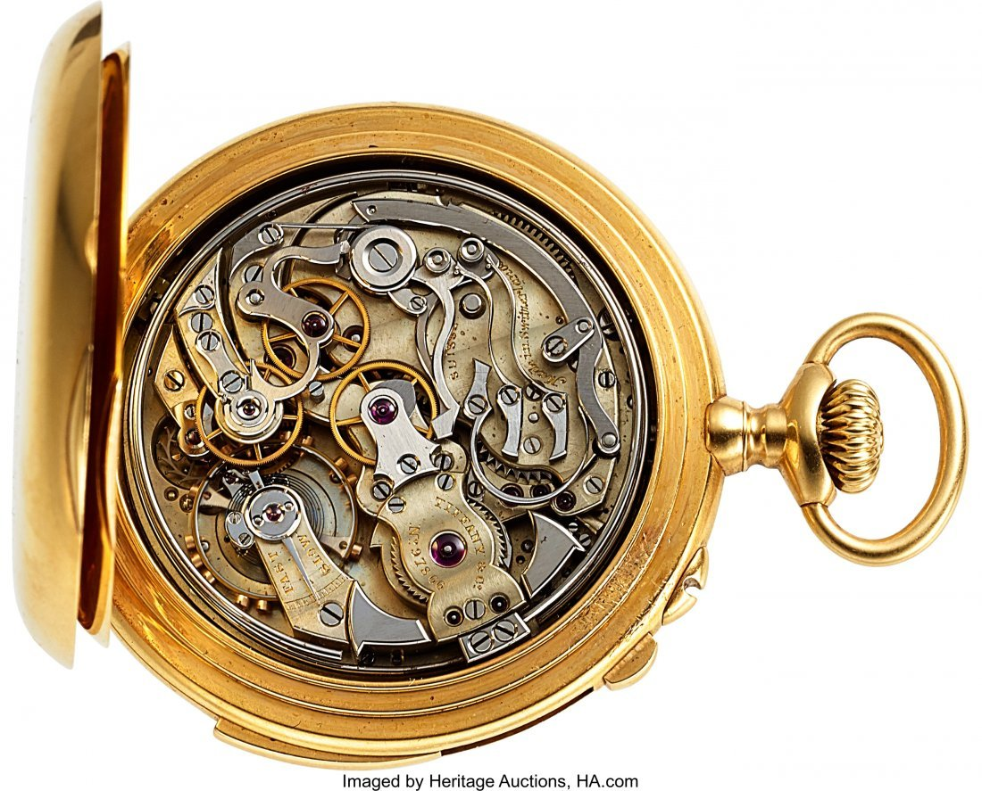 54312: Patek Philippe For Tiffany & Co, No. 97866,  Ver - 2