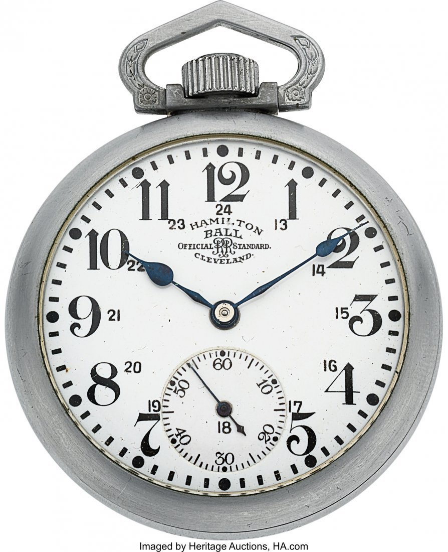 54408: Ball Hamilton 21 Jewel Official RR Standard With