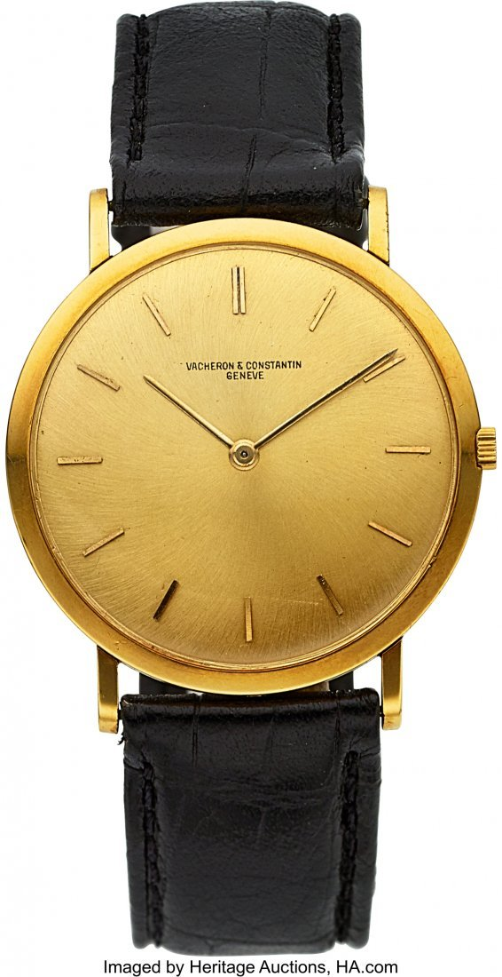54057: Vacheron & Constantin Ref. 6506 Extra-Thin Gold
