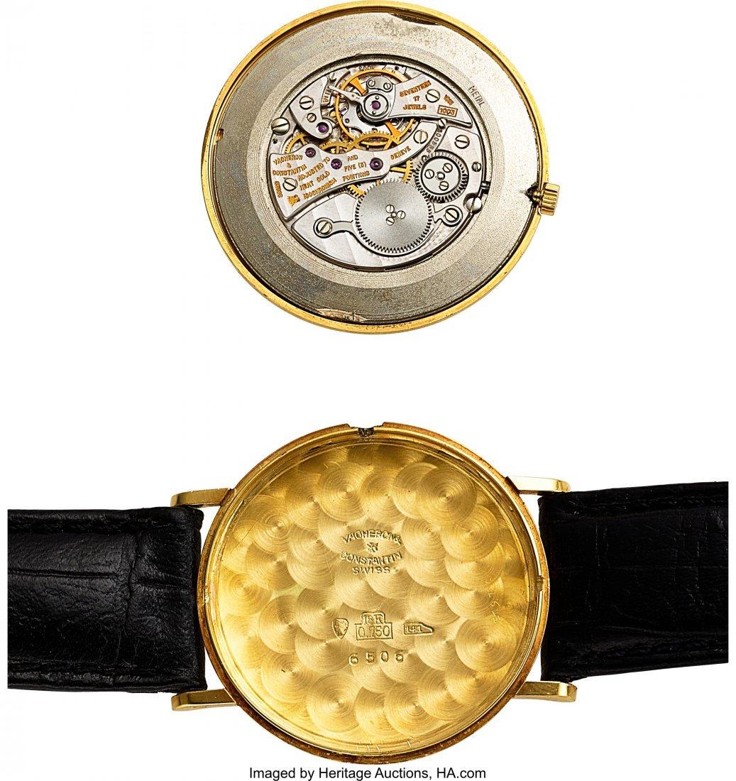 54057: Vacheron & Constantin Ref. 6506 Extra-Thin Gold  - 4