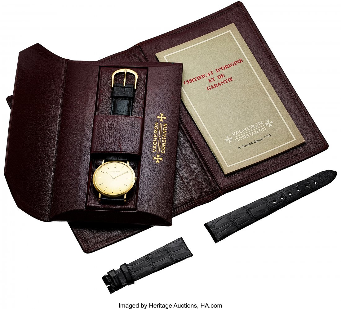 54057: Vacheron & Constantin Ref. 6506 Extra-Thin Gold  - 5