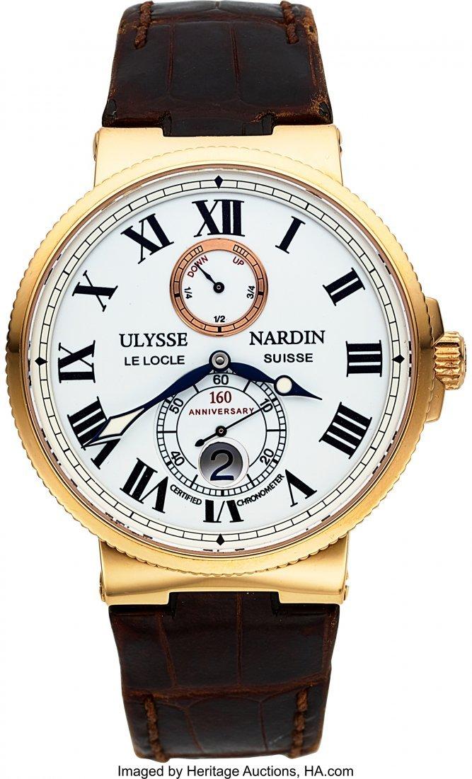 54058: Ulysse Nardin Ref. 266-65 Limited Edition 160th