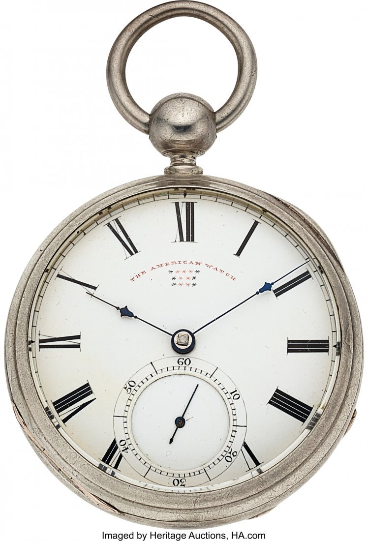 """54418: William Howard & Co. Boston """"The American Watch"""""""