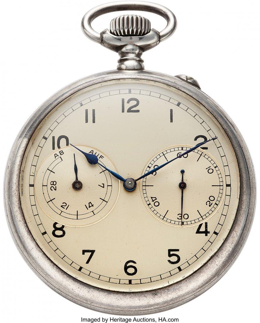 54420: A. Lange & Söhne Caliber 48 Fine Silver Deck Wa