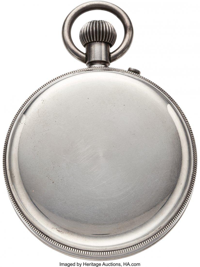 54422: Ulysse Nardin Sterling Deck Watch  Case: sterlin - 3