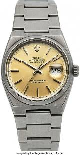 54153 Rolex Oysterquartz Ref 17000 B Circa 1980 Cas