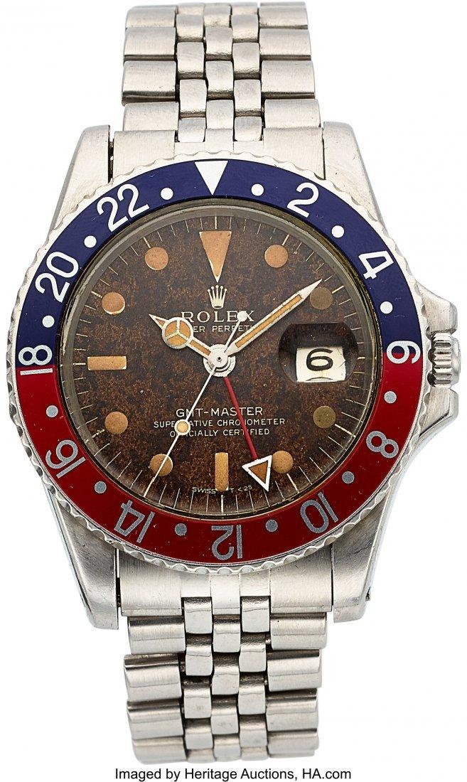 54325: Rolex, Ref: 1675, GMT-Master, Circa 1966  Case: