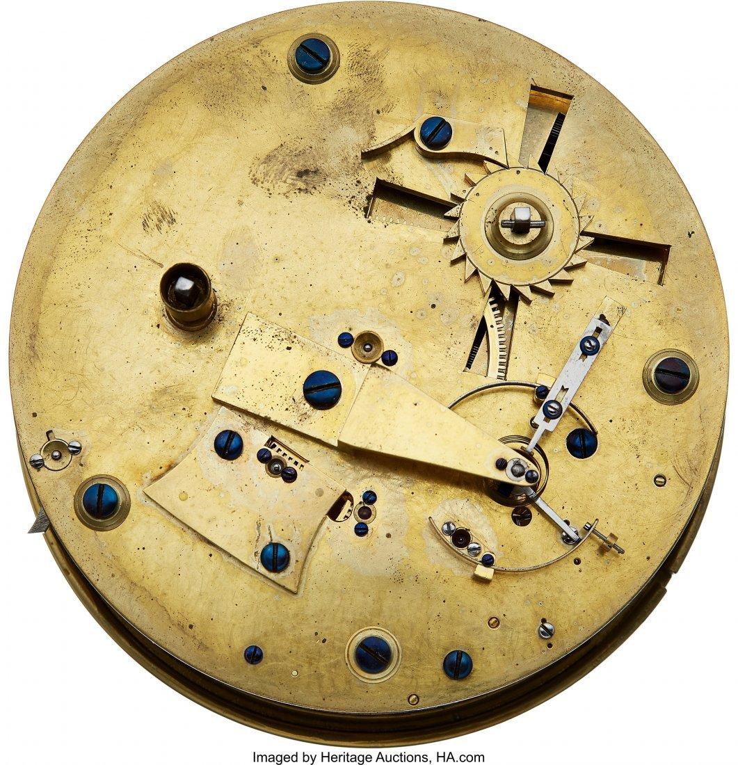 54427: James Hatton London Rare Eight Day Marine Chrono - 2