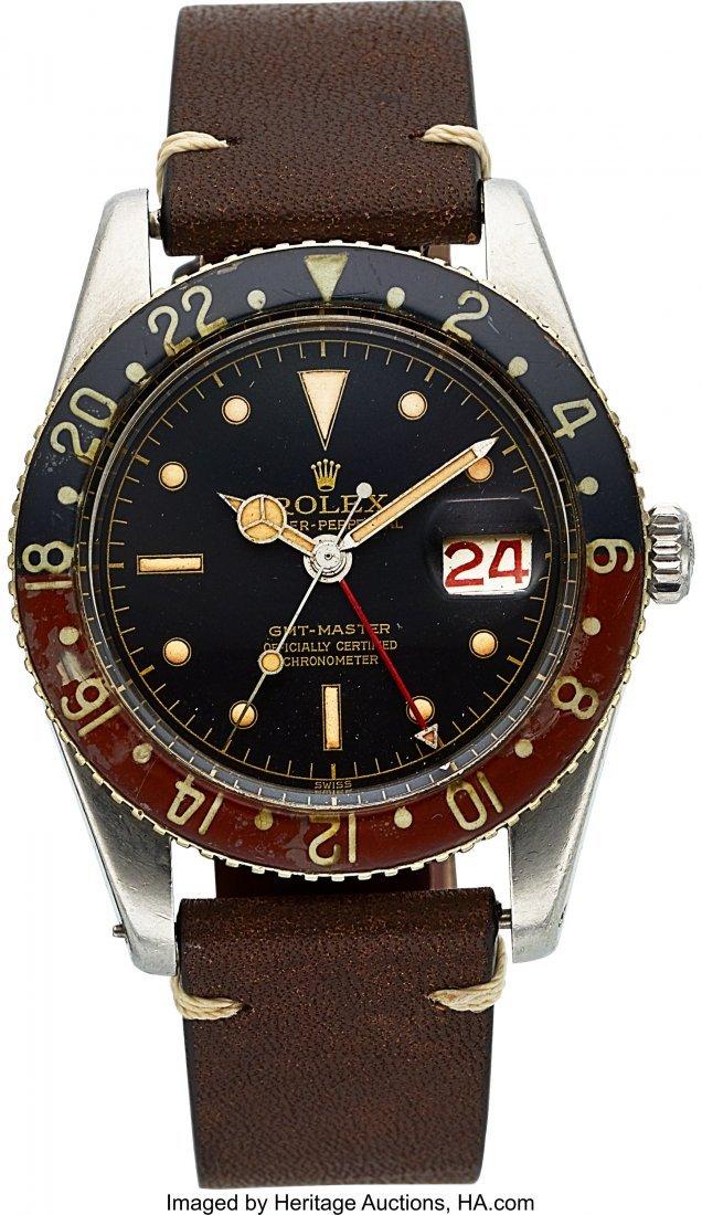54326: Rolex, Ref 6542, Bakelite Bezel GMT-Master, Circ