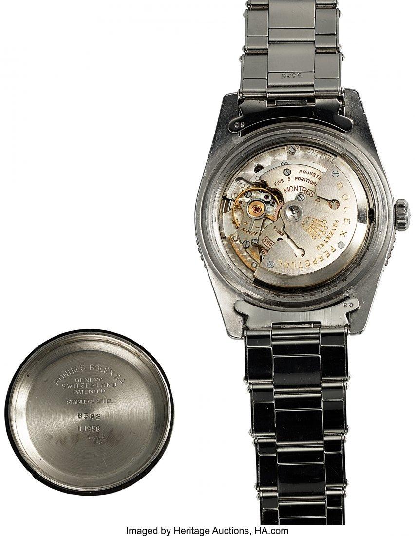 54326: Rolex, Ref 6542, Bakelite Bezel GMT-Master, Circ - 7