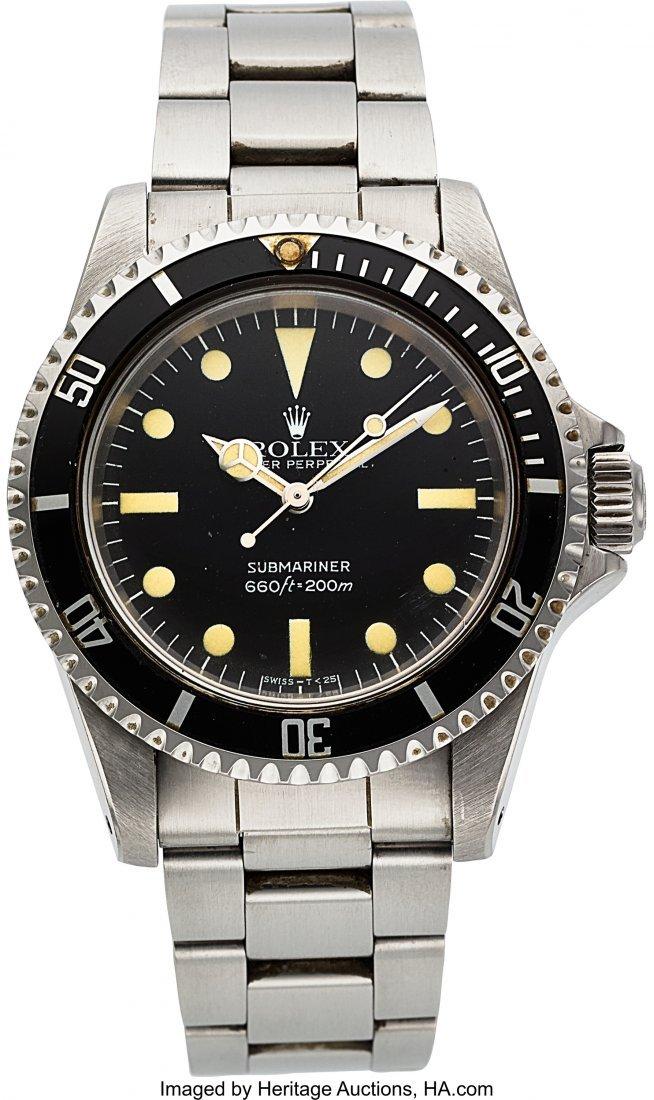 54328: Rolex Submariner, Ref: 5513, Circa 1981  Case: 4