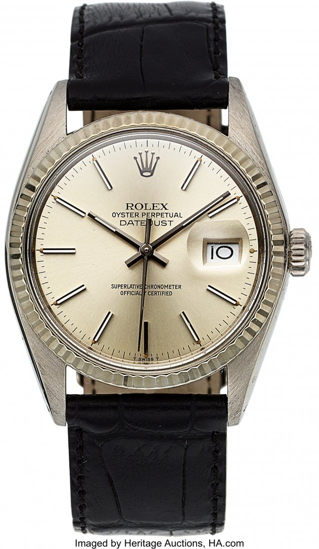54159: Rolex Ref. 16000 Steel Oyster Perpetual Datejust