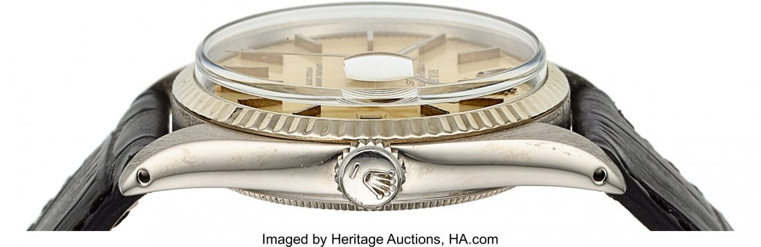54159: Rolex Ref. 16000 Steel Oyster Perpetual Datejust - 3