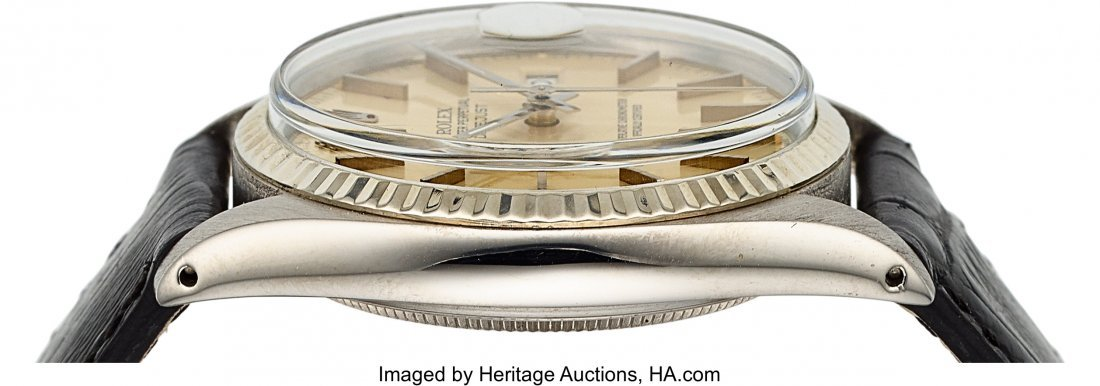 54159: Rolex Ref. 16000 Steel Oyster Perpetual Datejust - 4