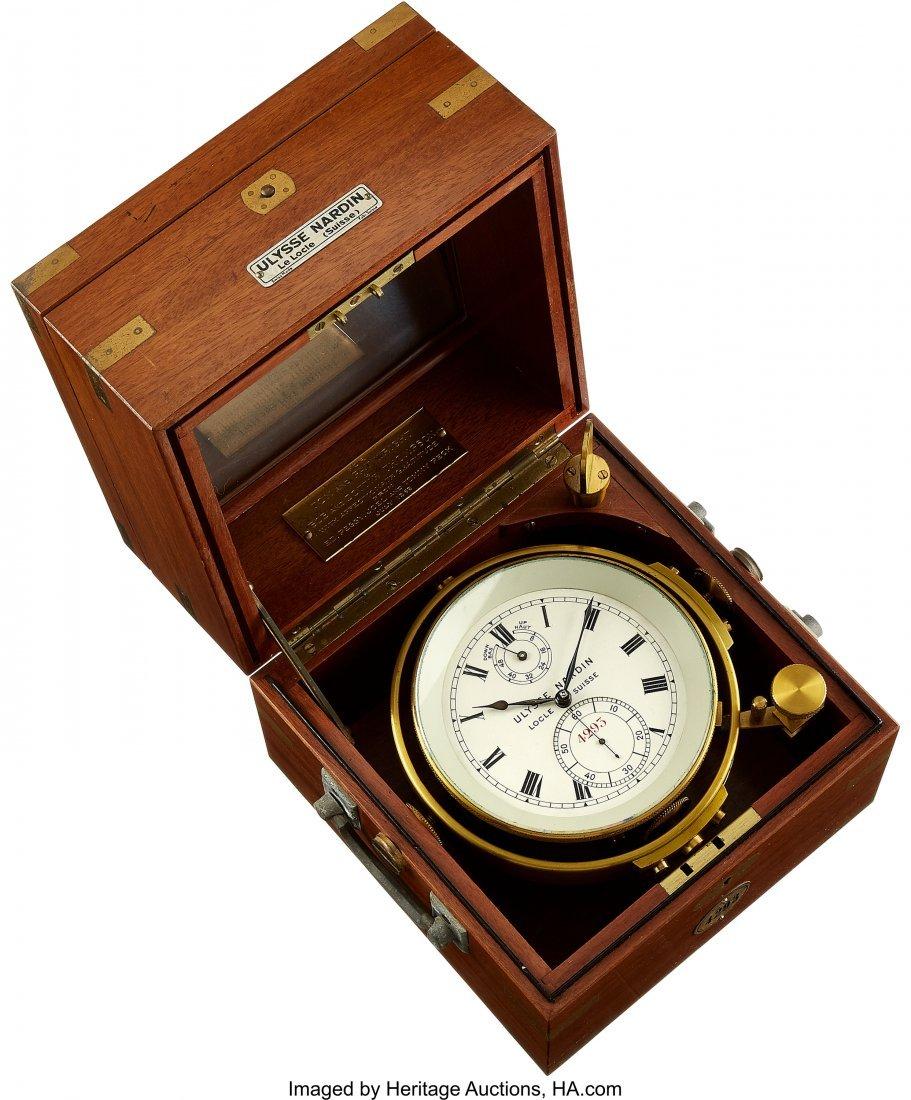 54432: Ulysse Nardin Two Day Marine Chronometer, No. 42