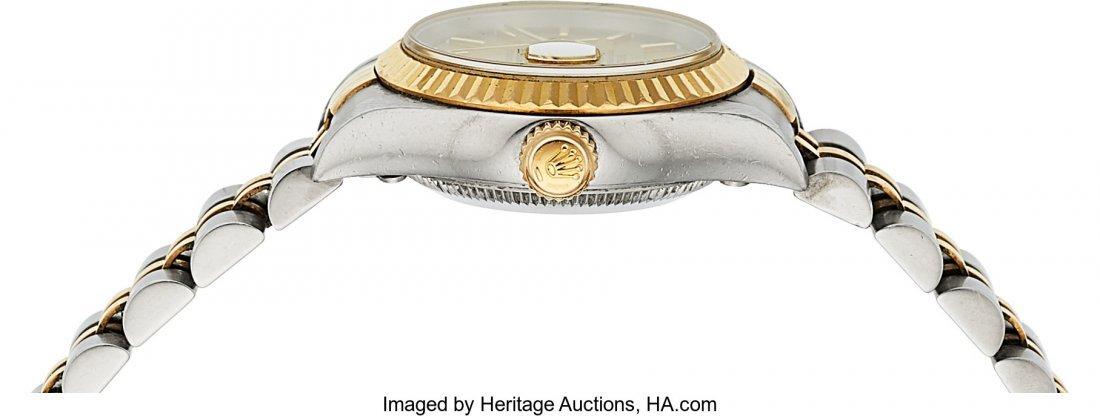 54161: Rolex Ref: 79173 Steel and Gold Ladies Datejust, - 2