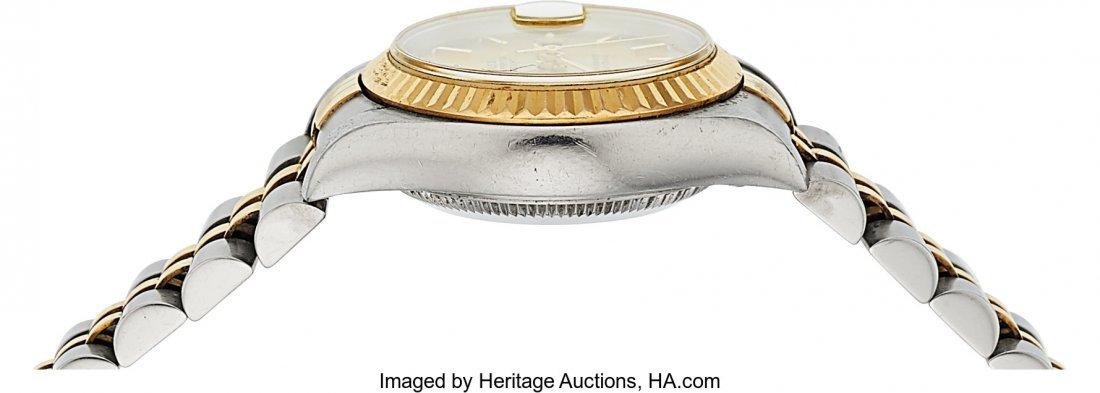 54161: Rolex Ref: 79173 Steel and Gold Ladies Datejust, - 3