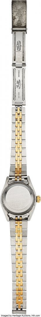 54161: Rolex Ref: 79173 Steel and Gold Ladies Datejust, - 4