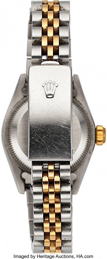54161: Rolex Ref: 79173 Steel and Gold Ladies Datejust, - 5