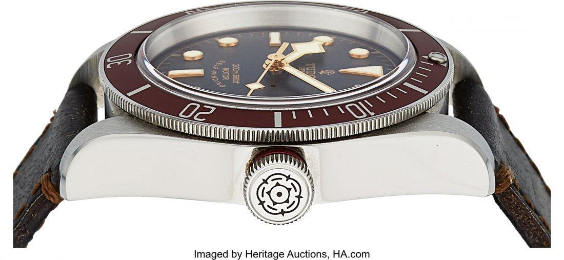 54166: Tudor Heritage Black Bay ref. 79220R Steel Autom - 2