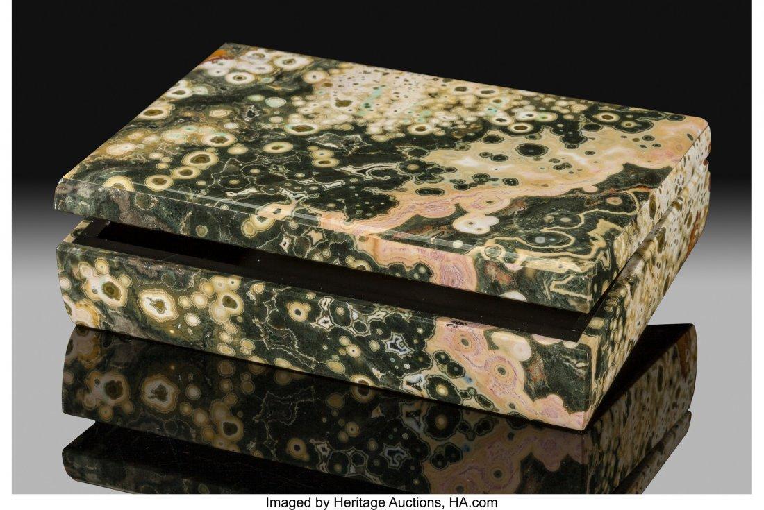 72181: Ocean Jasper Box Stone Source: Madagascar   This