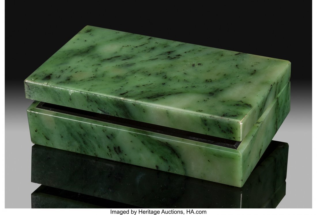 72193: Jade Box Stone Source: Canada   This attractive